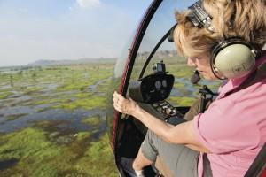 Kakadu Floodplans from the air