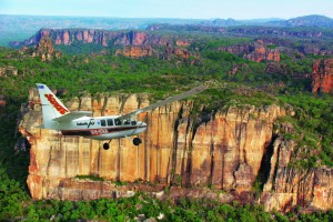 Flying over Kakadu