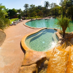 Swimming pool at Cooinda in Kakadu