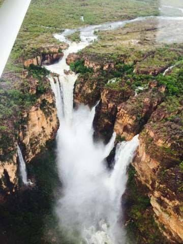 Kakadu Waterfall Flight